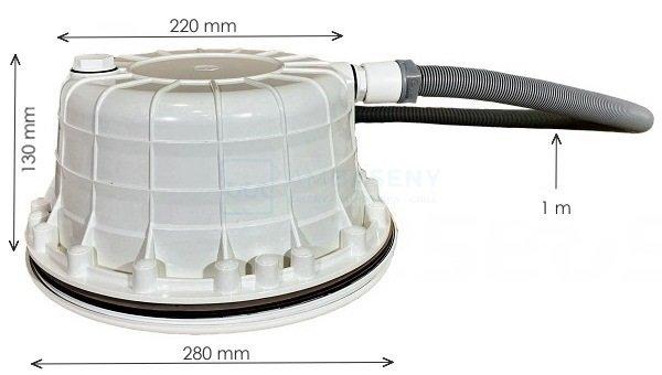 Lampa VA LED RGB 23W