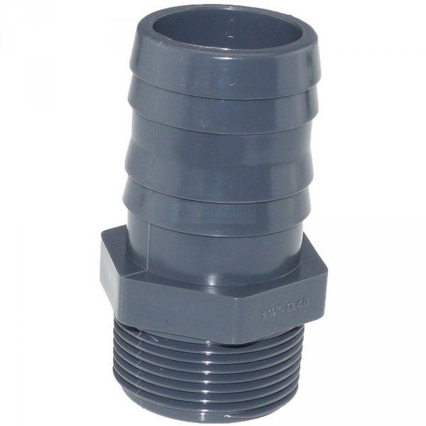 Tuleja PVC GZ 1 1/2 x 50 mm