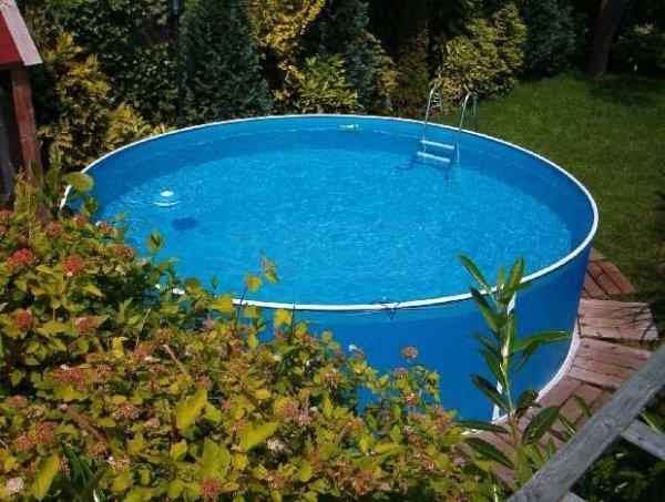 Folia niebieska 2,4 x 0,9m - 0,225 mm