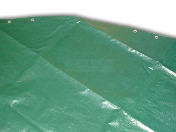 Płachta kryjąca owalna 9,1x4,6 m SUPREMA