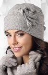 Kamea Modena czapka szary