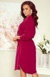 Koszulowa sukienka Numoco 258-1 Brooke tył