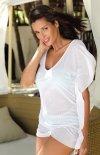 Sukienka plażowa biała Kaya
