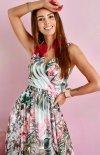 Szyfonowa długa sukienka letnia kolorowa 0209 U64-1