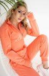 Pomarańczowy komplet dresowy 403-10