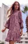 Oversizowa lekka sukienka M575/2