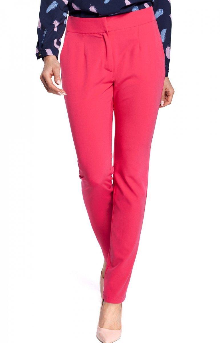 e491a4f1 Moe M303 spodnie różowe - Spodnie damskie Moe - Modna odzież damska ...