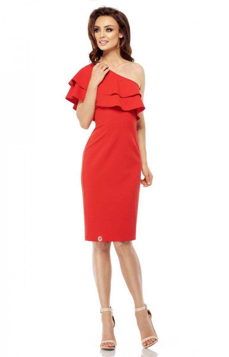 334b10695d Lemoniade L254 sukienka czerwona - Sukienki na wesela i imprezy ...
