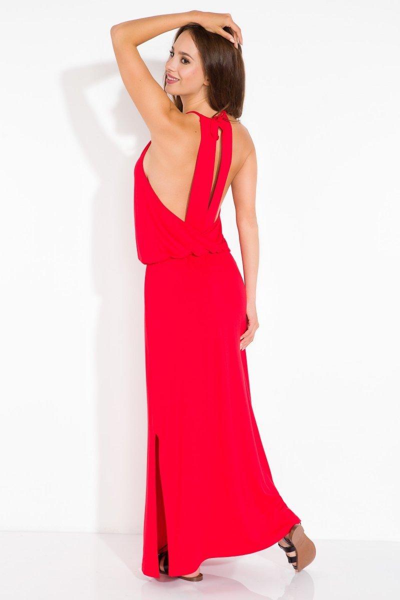 c138d25cc9 Fobya L102 sukienka czerwona - Modne sukienki damskie - Sukienki ...
