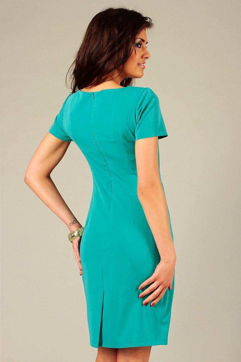 89aa82b42b Vera Fashion Rachela sukienka turkusowy - Sukienki wizytowe Vera ...
