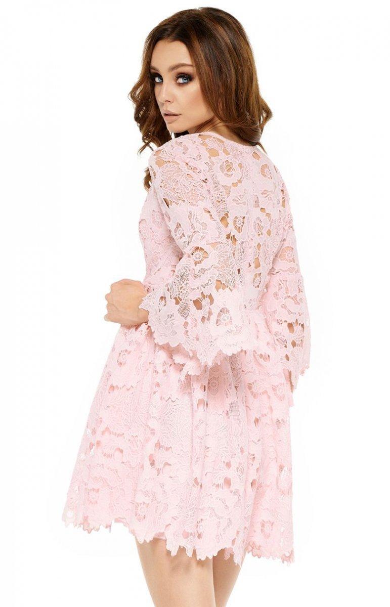 c37f7da109 Lemoniade L262 sukienka pudrowy róż - Sukienki na wesela i imprezy ...