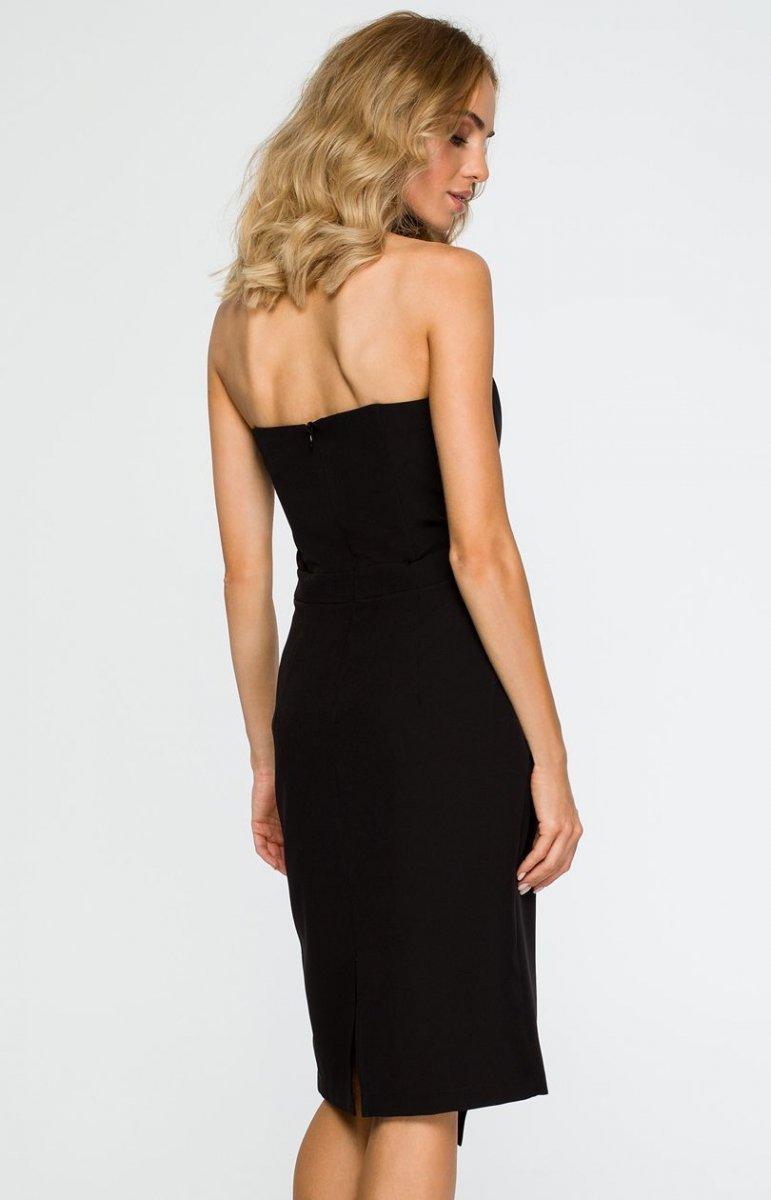 00ac91ee12 Moe M409 sukienka wieczorowa czarna - Sukienki wieczorowe ...