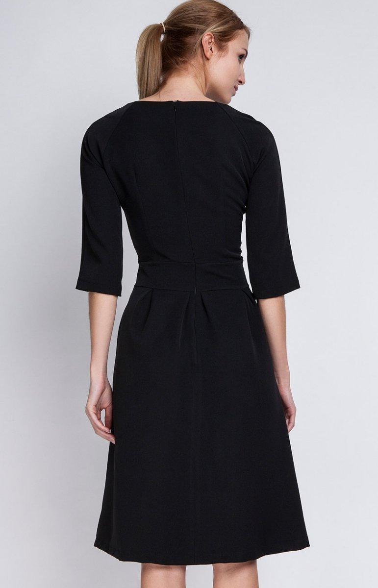 28b02f329d Lanti SUK122 sukienka czarna - Eleganckie sukienki damskie ...