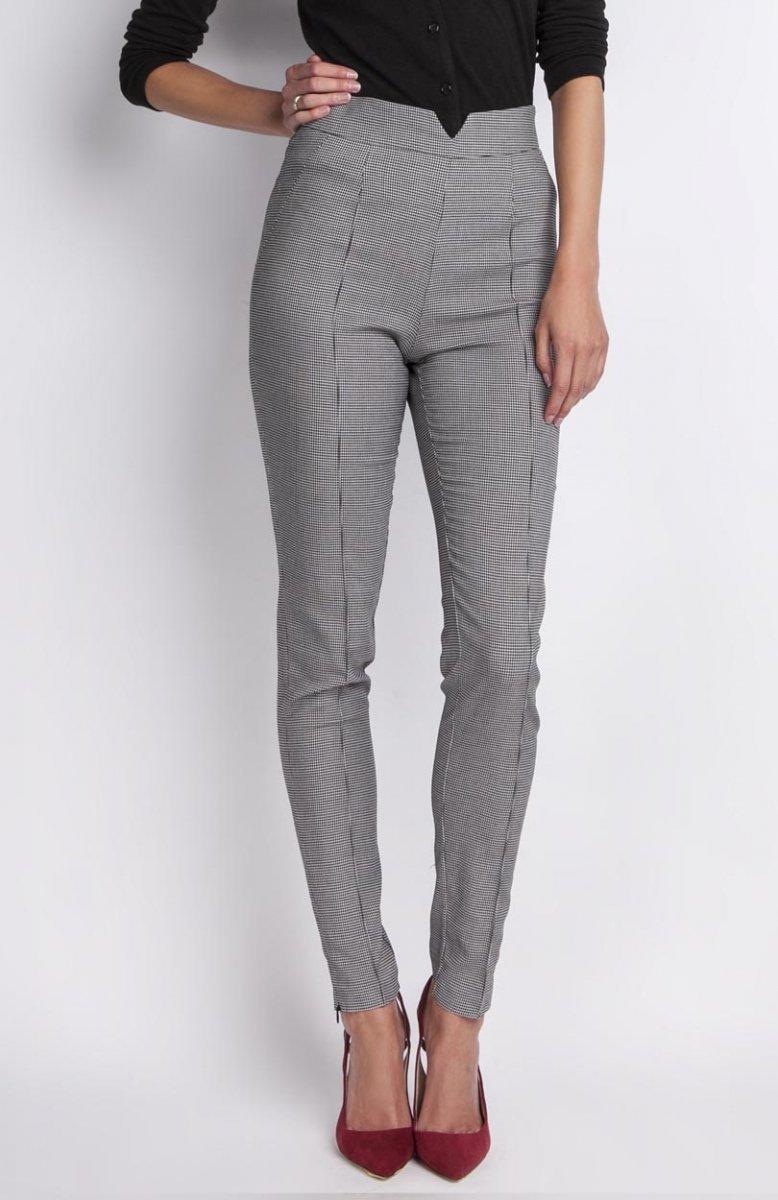 b248522be3ad04 Lanti SD112 spodnie pepitka - Eleganckie spodnie damskie - Modne ...