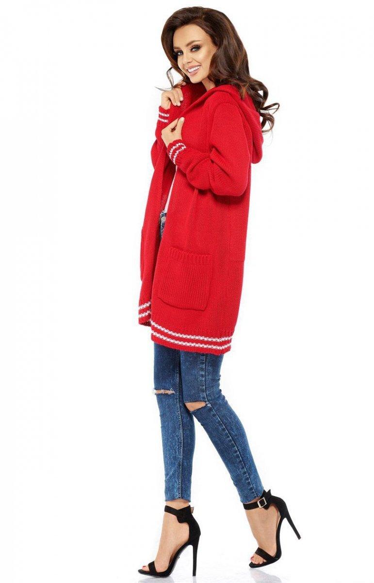4690891798cb13 Lemoniade LS210 sweter kardigan czerwony - Swetry i Kardigany ...
