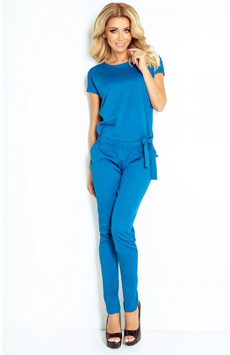 1f5685a4fa SAF 120-9 kombinezon niebieski jeans - Eleganckie kombinezony ...