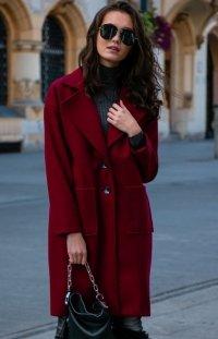 Elegancki oversizowy płaszcz Roco P013