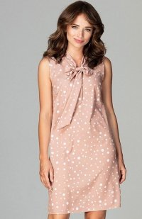 Lenitif K471 sukienka beżowa