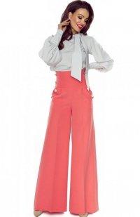 Bergamo spodnie typu szwedy łososiowe