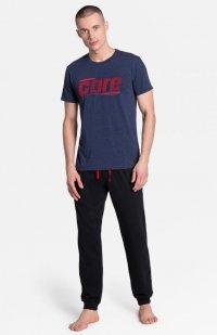 Henderson Onward 38377-59X piżama granatowo-czarna