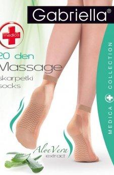 Gabriella Medica 20 Massage code 623 skarpety klasyczne