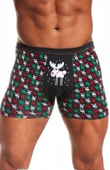 Cornette Merry Christmas Reindeer 2 bokserki