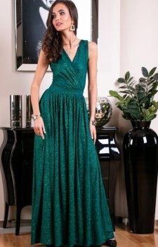 Roco 0224 sukienka zielona