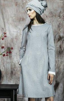 Kasia Miciak design popielata sukienka