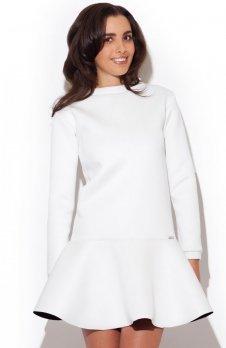 Katrus K247 sukienka ecru