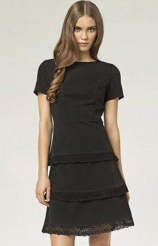 Nife S43 sukienka czarna