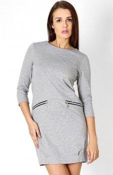 Vera Fashion Oxana sukienka szara