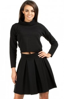 Moe MOE109 spódnica czarna