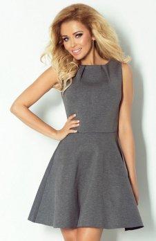 SAF Blussom 2 sukienka grafit
