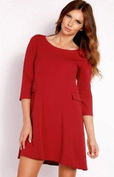 LOU LOU L005 sukienka czerwona