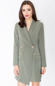Figl M447 sukienka zielona