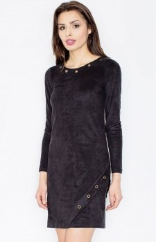 Figl M455 sukienka czarna