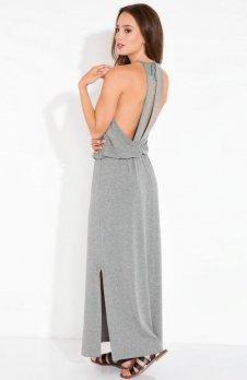 Fobya L102 sukienka szara
