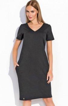 Makadamia M294 sukienka czarna