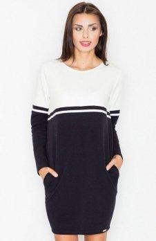 Figl M510 sukienka czarna