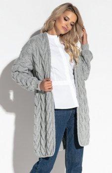 Fobya F573 sweter szary