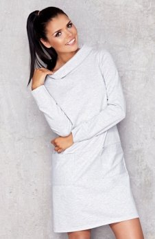 Infinite You M012 sukienka szara