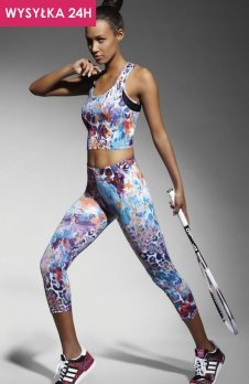 Bas Bleu Caty 70 legginsy wzorzyste