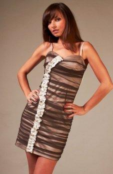 Vera Fashion Doris sukienka cappucino