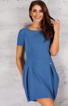 Infinite You M059 sukienka niebieska