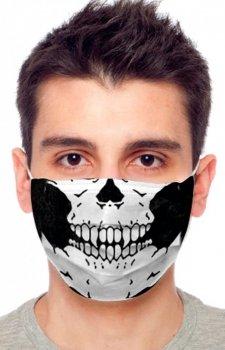 Maseczka ochronna czaszka