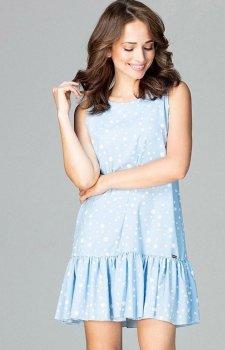 Lenitif K470 sukienka niebieska