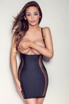 Mitex Style sukienka wyszczuplająca