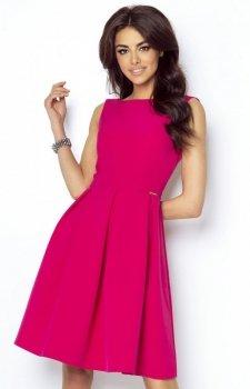Ivon Tailor 215 sukienka fuksja