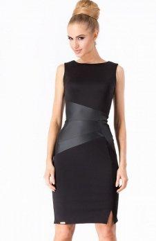 Makadamia M175 sukienka czarna