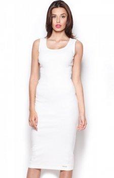 Figl M282 sukienka ecru
